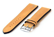 Watchstrap 20mm yellow