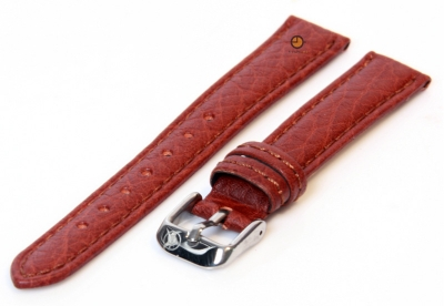 Watchstrap 14mm classic brown leather