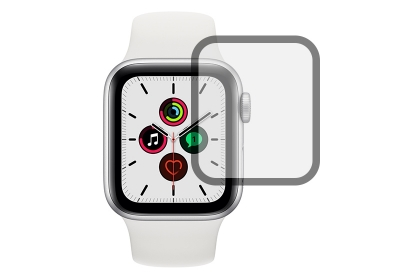 Apple Watch SE screenprotector curved - 44mm